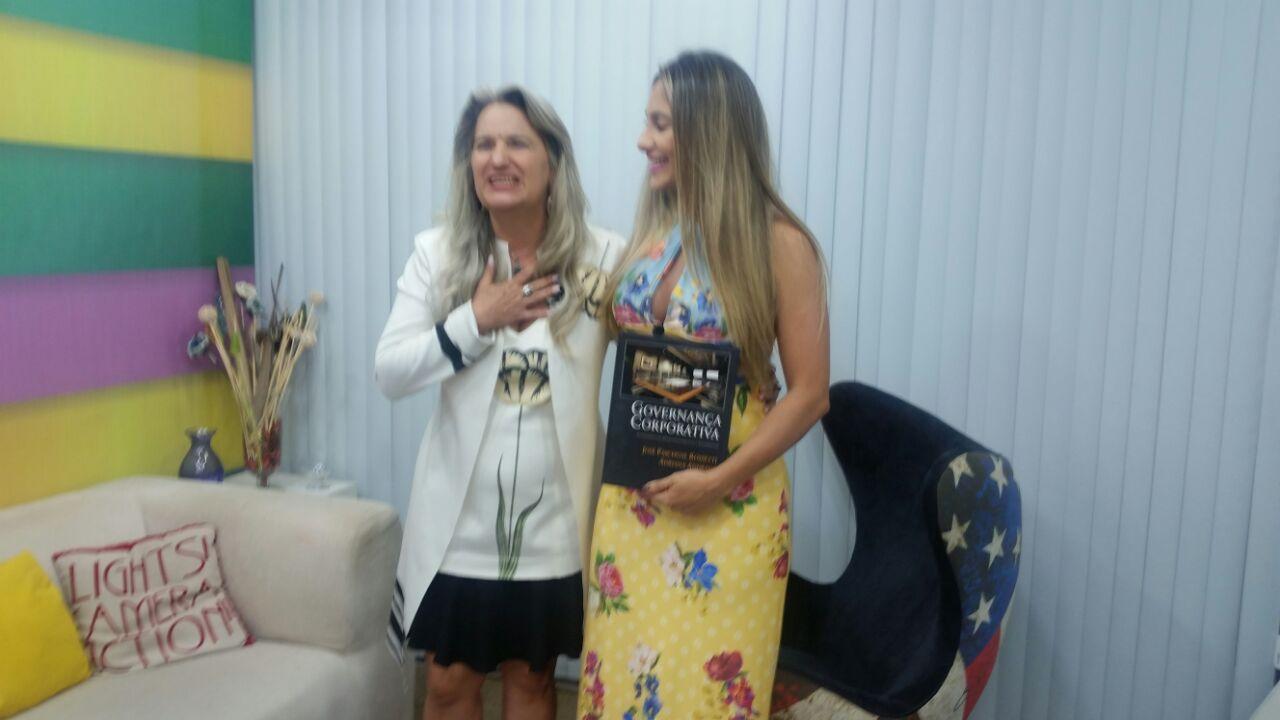 Participação no programa ChegAí!, em São Luís