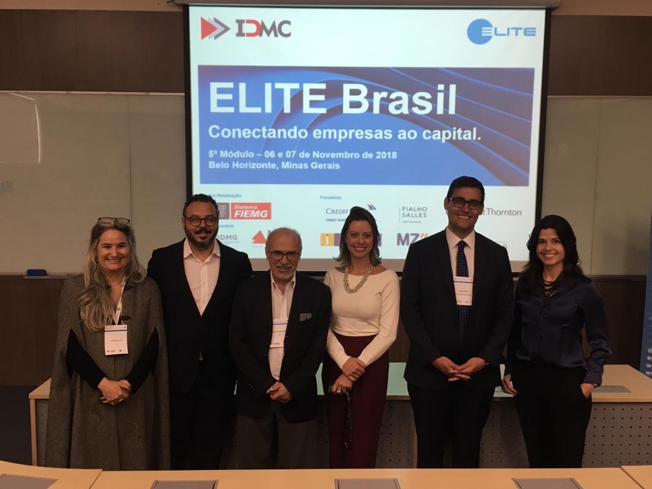 Programa Elite Brasil/ IDMC e London Stock Exchange no seu quinto módulo: Fontes de Captação de Recursos