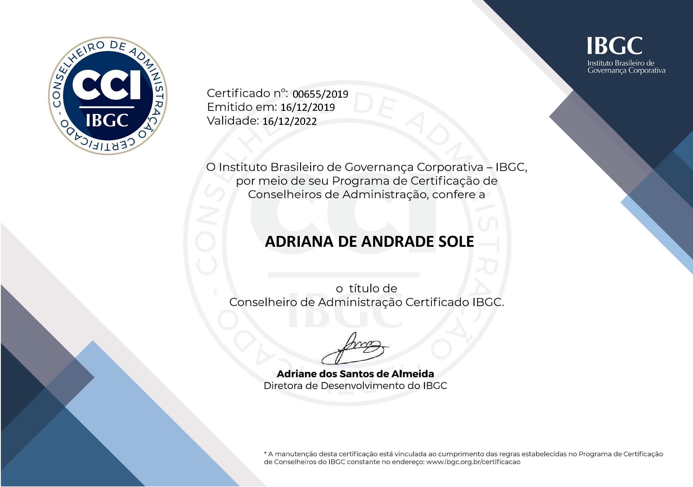 Todos os diplomas e certificações de qualificação profissional