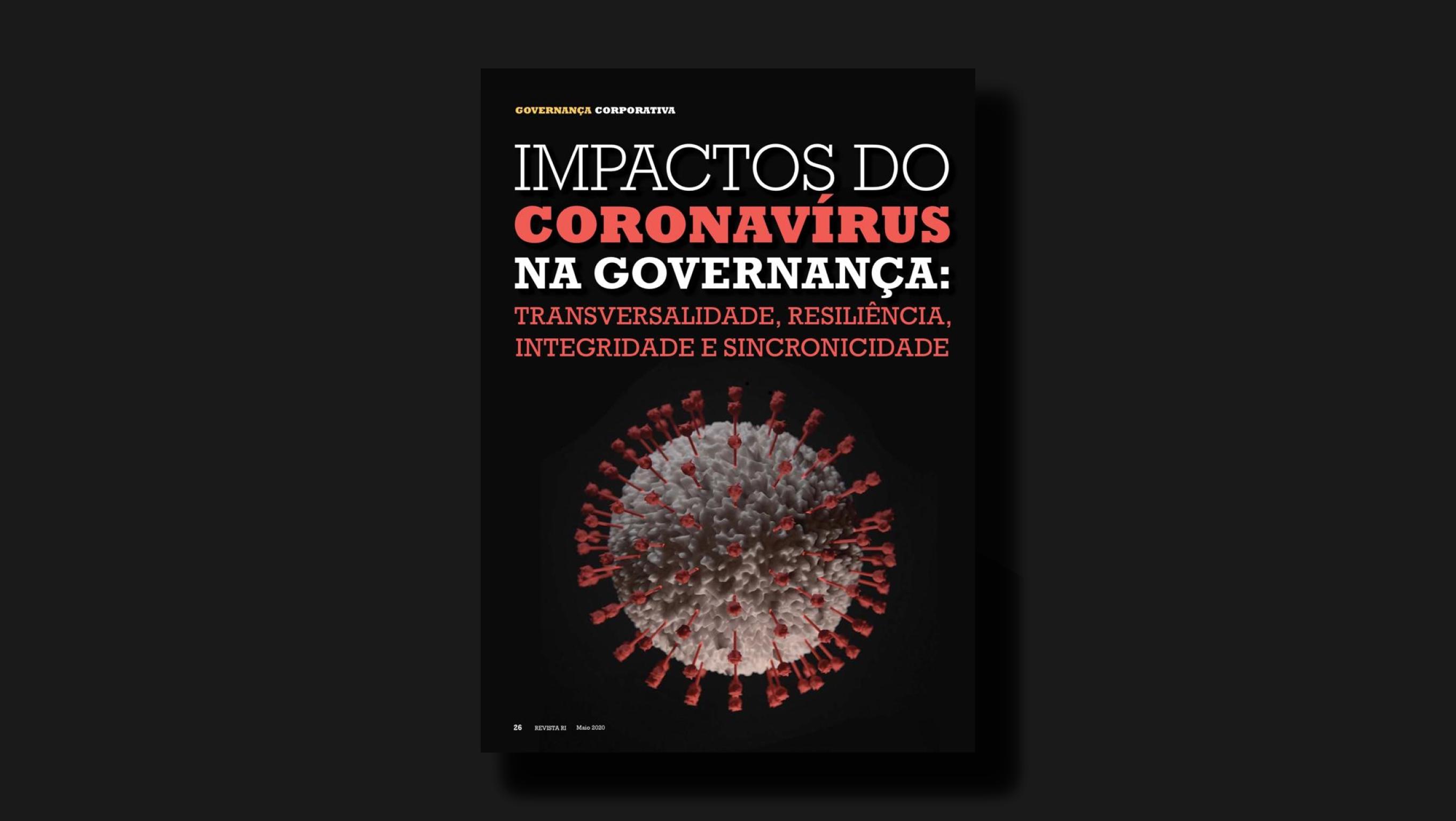 Artigo: Impactos do coronavírus na Governança Corporativa