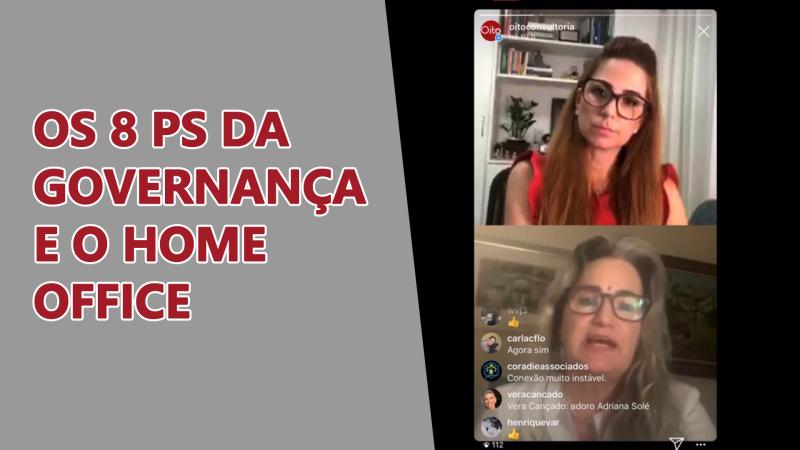 """Veja a trilha de vídeos """"Governança Corporativa em home office"""""""