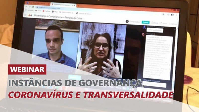 Confira a trilha Coronavírus no canal do YouTube Governança Já