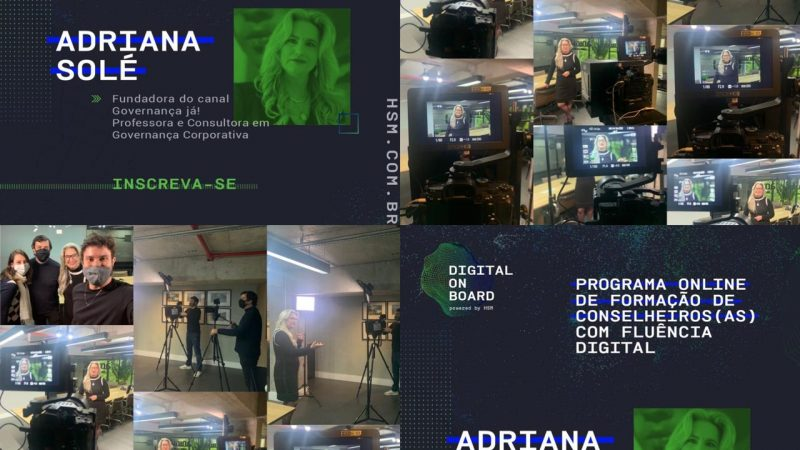 "Backstage do ""Digital on Board"", da HSM"