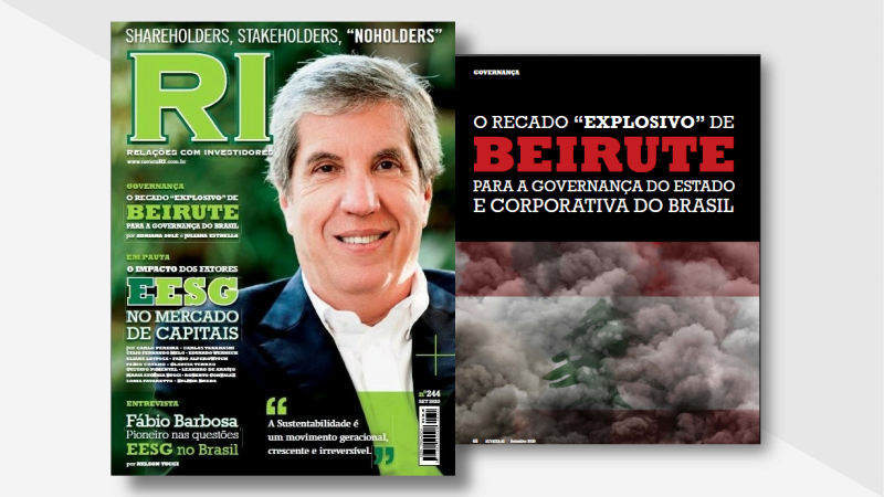 """Artigo: O recado """"explosivo"""" de Beirute para a Governança do Estado e corporativa do Brasil"""