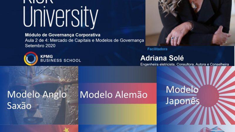 Risk University Executive / KPMG: novidades nos modelos de Governança pelo mundo