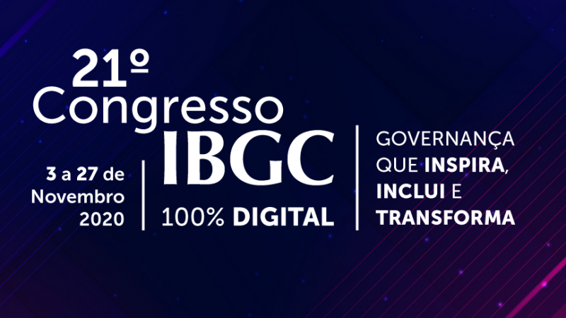 Acompanhe o 21º Congresso IBGC com o Governança Já!