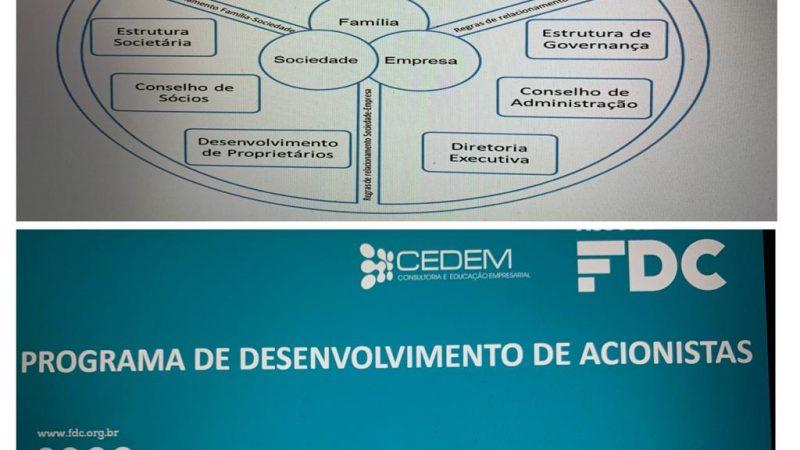 Missão cumprida em Porto Alegre- RS: Desenvolvendo Acionistas de Empresas familiares