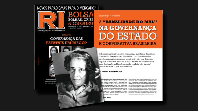 """Artigo: A """"banalidade do mal"""" na Governança do Estado e Corporativa brasileira"""