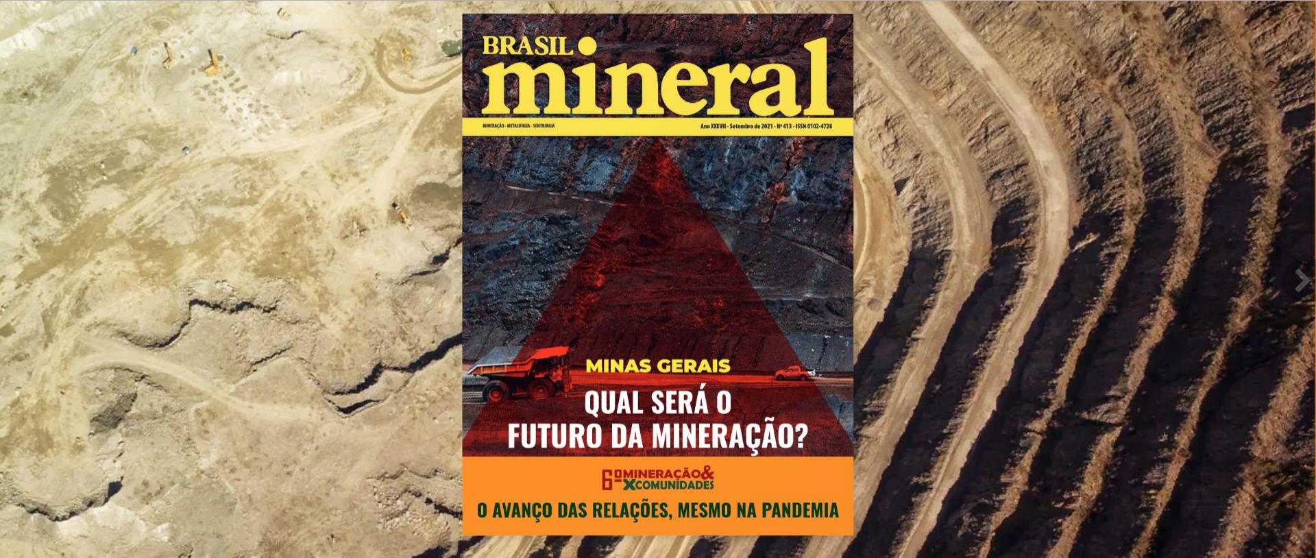 Reportagem na revista Brasil Mineral